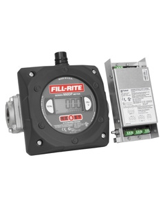 """Digital Meter with 1.5"""" Ports and Pulse Output Without Intrinsically Safe Barrier"""