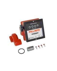 """4-Digit 1.5"""" Mechanical Flow Meter, Litre, for FR300 Pump"""
