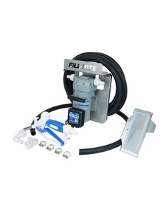 12V DC 8GPM DEF Transfer Pump with Manual Nozzle