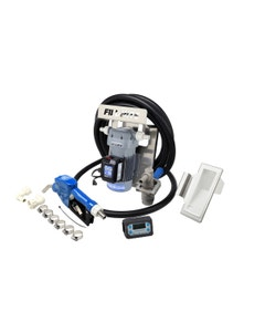 120V AC 8GPM DEF Transfer Pump with Loose Digital In-Line Meter and Auto Nozzle