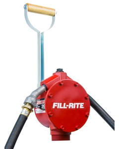 Piston Hand Pump, Spout, Suction Pipe, and Hose Included