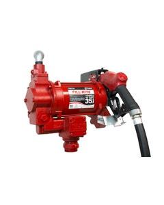 115V/230V AC 35GPM Heavy-Duty Fuel Transfer Pump with Ultra Hi-Flow Auto Nozzle