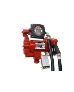115V/230V AC 35GPM Heavy-Duty Fuel Transfer Pump with Digital Pulser Meter and Ultra Hi-Flow Auto Nozzle