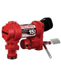 115V AC 15GPM Heavy-Duty Fuel Transfer Pump, No Accessories
