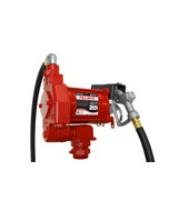 115V AC 20GPM Heavy-Duty Fuel Transfer Pump with Manual Nozzle