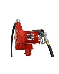 115V AC 20GPM Heavy-Duty Fuel Transfer Pump with Manual Nozzle