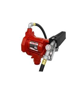 230V AC 20GPM Heavy-Duty Fuel Transfer Pump with Manual Nozzle