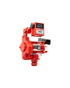 115V AC 20GPM Heavy-Duty Fuel Transfer Pump with Mechanical Meter (Litre)