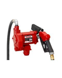 115V AC 20GPM Heavy-Duty Fuel Transfer Pump, No Accessories