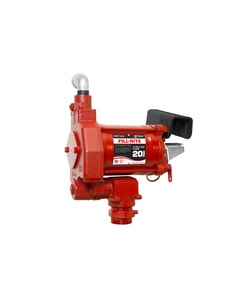 115V AC 20GPM Heavy-Duty Fuel Transfer Pump No Accessories