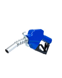 """Artic Weather Automatic Shut-Off Nozzle with Blue Boot, 1"""" Inlet"""
