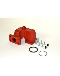 """1"""" BSP Meter Flange Kit for 900 Series Meters, Nickel Plate"""