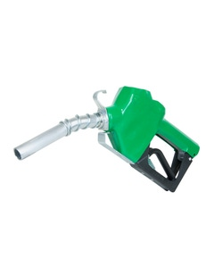 """Automatic Shut-Off Nozzle with Green Boot, 3/4"""" Inlet"""