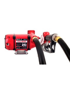 115V AC 25 GPM Continuous Duty Fuel Transfer Pump with Ultra Hi-Flow Auto Nozzle