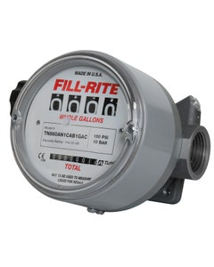 Litre Meter for Airline Lavatory Solvents, PTFE Seals